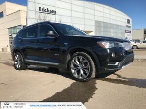 2016 BMW X3 ALL WHEEL DRIVE/HEATED SEATS/NAVIGATION/BACK UP CA