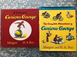 Curious George Complete Adventures Collector's Edition +Treasury