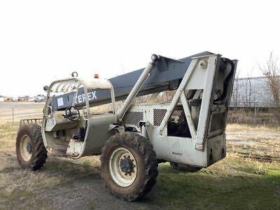 2002 Terex Th644c 4x4 6000 Lb. Telehandler Reach Forklift 2955