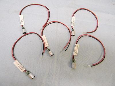 5 New Miniature Ingaaip Diode Laser Module 635nm Red
