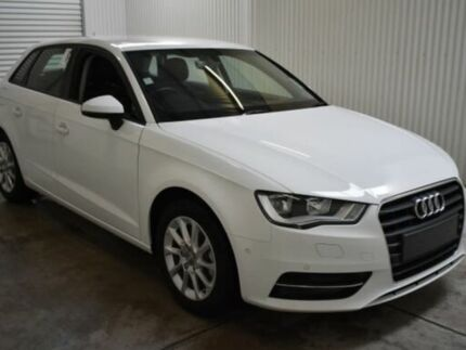 2016 Audi A3 8V MY16 S/Back 1.4 TFSI Attraction CoD White 7 Speed Auto Direct Shift Hatchback Salisbury Plain Salisbury Area Preview