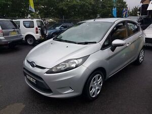 2009 Ford Fiesta Silver 5 Speed 5 Sp Manual Hatchback Campbelltown Campbelltown Area Preview