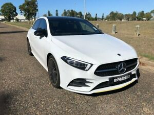 2018 Mercedes-Benz A200 W177 D-CT Digital White 7 Speed Sports Automatic Dual Clutch Hatchback Port Macquarie Port Macquarie City Preview