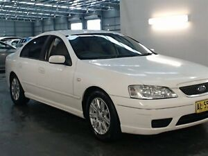 2006 Ford Falcon BF Futura White 4 Speed Auto Seq Sportshift Sedan Beresfield Newcastle Area Preview