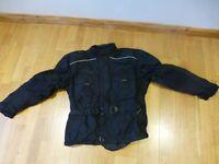 Hein Gericke Motorcycle Waterproof Jacket Size 38UK + Winter Layer