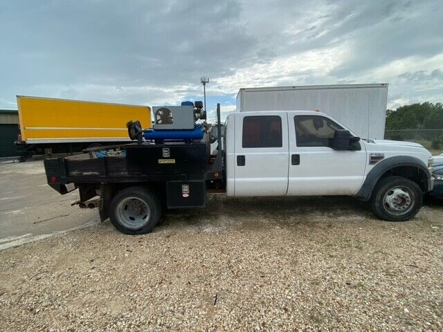 2008 FORD F550 4x4 UTILITY TRUCK 6.4 DIESEL NO RESERVE BANK REPO