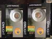 Civilight Dimmable LED 11w 540lm Downlight