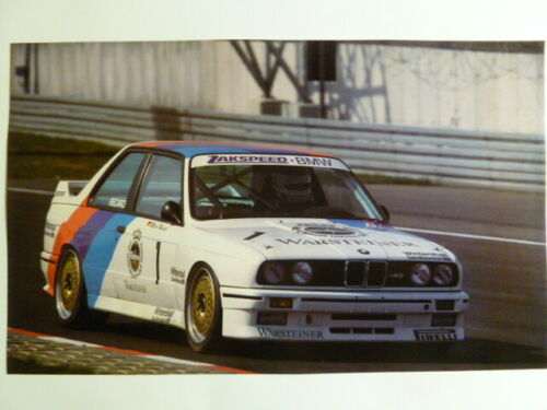 1988 BMW M3 Coupe Race Car Print, Picture, Poster RARE!! Awesome L@@K