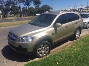 2007 Holden Captiva 7 seater Wagon Kingsville Maribyrnong Area Preview