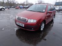2006(56reg) Skoda Fabia Estate Car 1.9 TDI Elegence £995