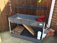Large indoor double cage , rabbit , Guinea pig etc