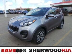2018 Kia Sportage AWD SX TURBO Navigation, Leather Seats, Dual M