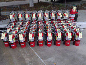 TAGGED AND CERTIFIED FIRE EXTINGUISHERS AVAILABLE FOR SALE