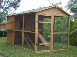 Chicken coop Cat Enclosure Somerzby Homestead HUGE WALKIN Rabbit Somersby Gosford Area Preview