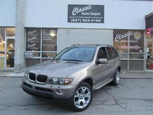 2004 BMW X5 3.0I *LEATHER,SUNROOF,NO ACCIDENTS,LOADED!!!*
