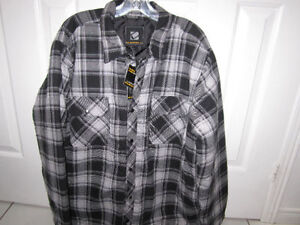 BC Clothing Quilted Flannel Work Shirt Size XL..brand new $15.00