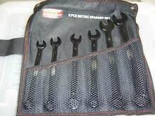 6 PIECE METRIC SPANNER SET - NEVER BEEN USED Toronto Lake Macquarie Area Preview