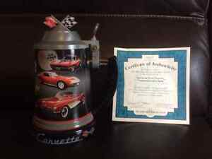 60th Anniversary Corvette Stein