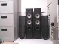 125W Mission 734 Stereo Speakers - Heathrow