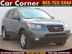 2009 Hyundai Santa Fe GL $107 B/W! AWD/HEATED LEATHER/SUNROOF!