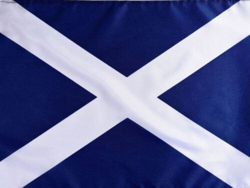 Scottish Flag 3ft x 2ft Navy Blue Saltire St Andrew Scotland National Flags