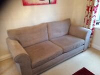 Medium 2 seater sofa from Next - neutral colour very good condition
