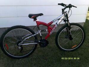 Full Suspension Disc Brake Mountain Bike