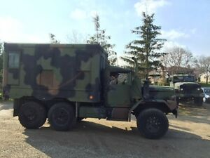 MIND CONDITION 6x6 DOUCE AND HALF US ARMY CAMPER TRACK
