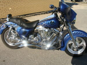 ........96 Custom Harley Davidson Road King.........