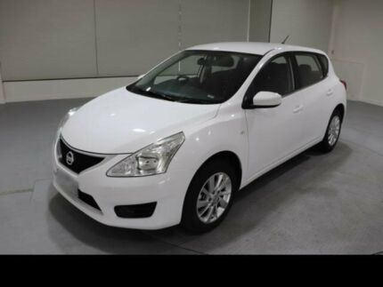 2015 Nissan Pulsar C12 Series 2 ST White Continuous Variable Hatchback Invermay Launceston Area Preview