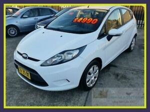 2010 Ford Fiesta WS Econetic White Hatchback Lansvale Liverpool Area Preview