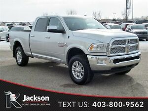 2015 Ram 3500 Laramie - Nav,  Heated/Ventilated Leather