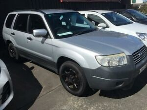 2006 Subaru Forester MY06 X Silver 5 Speed Manual Wagon Cardiff Lake Macquarie Area Preview