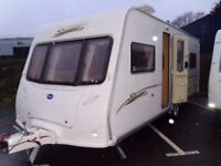 2006 Bailey Senator Indiana FIXED BED Inc a Motor Mover and Awning.