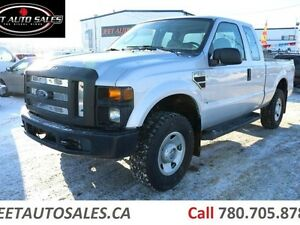 2008 Ford F-250 XL 4x4 SD Super Cab Short Box Gas