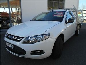 2014 Ford Falcon FG MkII Super Cab White 6 Speed Automatic Cab Chassis Hamilton East Newcastle Area Preview