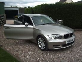 BMW 120 TD 2.0 DSE COUPE,58 REG,SERVICE HISTORY,EXCELLENT CONDITION.
