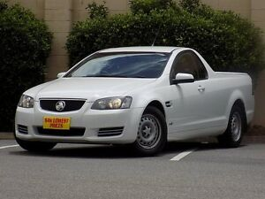 2012 Holden Ute VE II MY12.5 Omega White 6 Speed Sports Automatic Utility Blair Athol Port Adelaide Area Preview