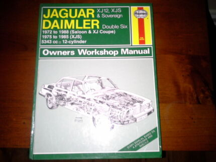 jaguar daimler owners workshop manual Inglewood Adelaide Hills Preview