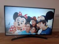 """43"""" LG TV - 3 months old. Here's a bargain!"""