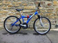 Boys Bike Blue