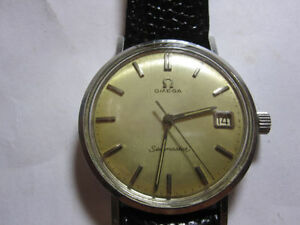 Omega Seamaster Manual wind SSteel Date rare vintage(sell/trade)