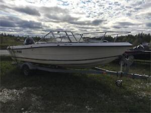 1995 SEA PRO WITH 2008 EVINRUDE ETEC 115HP