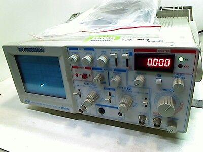 Bk Precision Model 2121 Oscilloscope With Auto Counter 30mhz