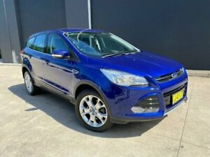 2014 Ford Kuga TF MkII Ambiente Wagon 5dr Spts Auto 6sp, AWD 1.5T [MY15] Blue Sports Automatic Wagon Villawood Bankstown Area Preview