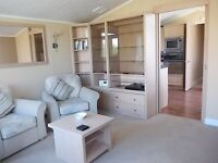 Static caravan of the highest standard, full size bathtub and walkin wardrobe at St Margarets Bay