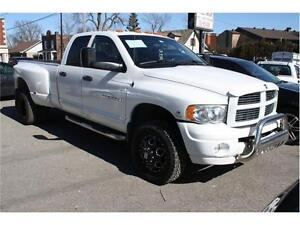 2005 DODGE RAM 3500 4X4 CUMMINS TURBO DIESEL