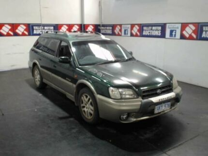 1999 Subaru Outback MY99 Limited Green 4 Speed Automatic Wagon
