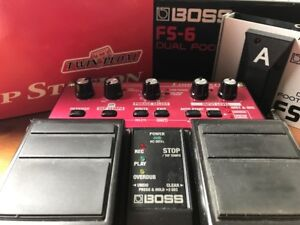 BOSS LOOPER (RC-20 XL) + BOSS FS-6 DUAL FOOTSWITCH