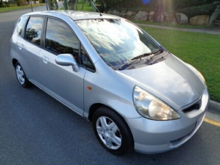 2003 Honda Jazz VTi Silver Metallic 5 Speed Manual Hatchback Chermside Brisbane North East Preview